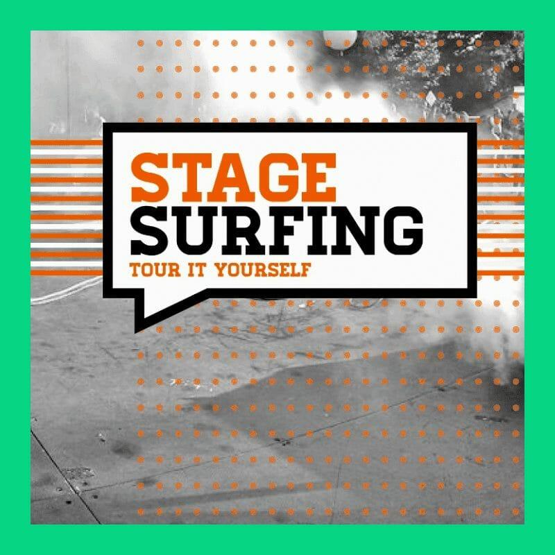 sito web di stagesurfing piattaforma tour musicali